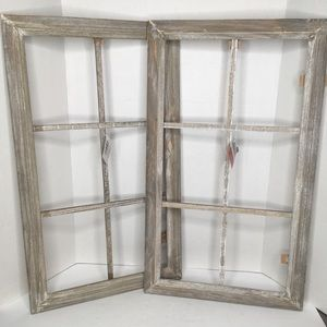 Wall Deco Frames Distressed Crafts Ready To Hang